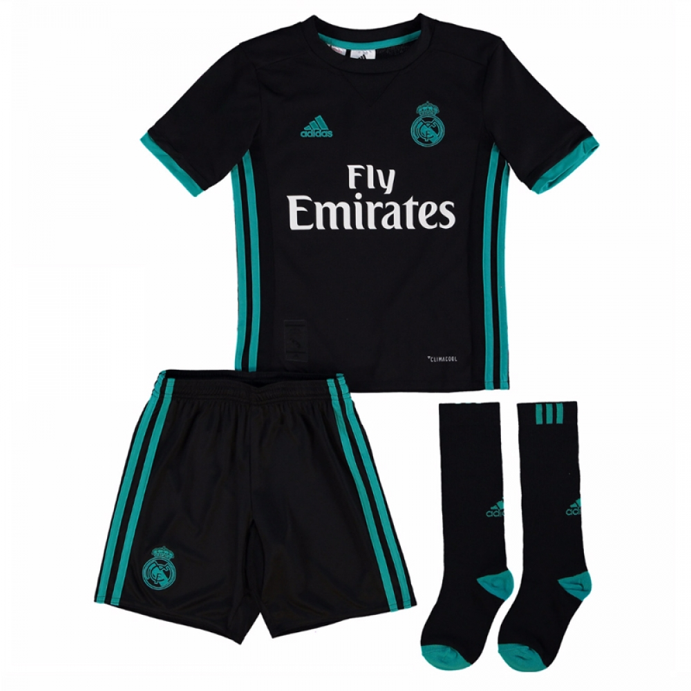 Real Madrid 2017-2018 Away Full Kit (Kids)  B31094  -  131.30 Teamzo.com 4931056dc