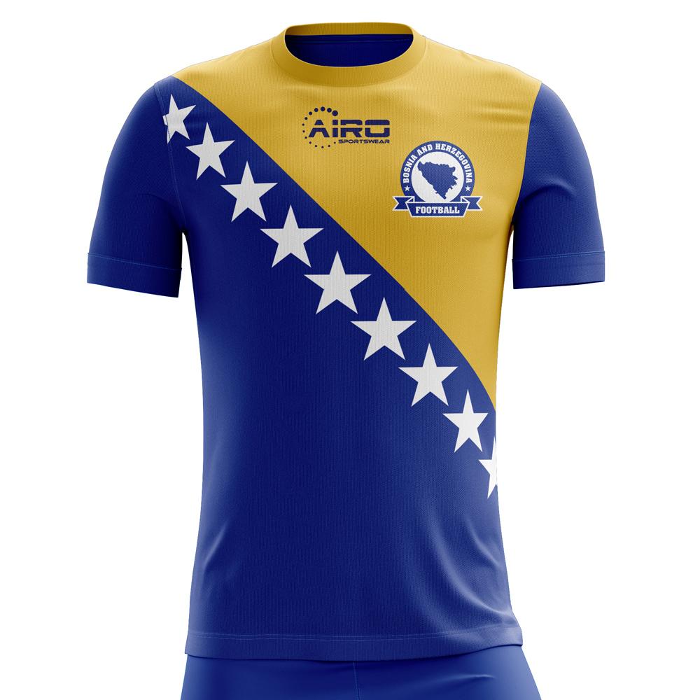 9a30fb5f2fa Bosnia Herzegovina 2018-2019 Home Concept Shirt [BOSNIAH] - 62,07 ...
