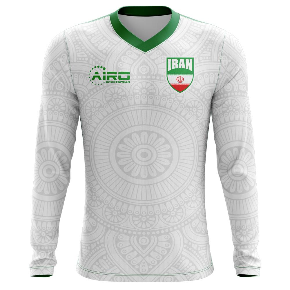 06cbad9aa70 Iran 2018-2019 Long Sleeve Home Concept Shirt [IRANLSH] - £64.99 Teamzo.com