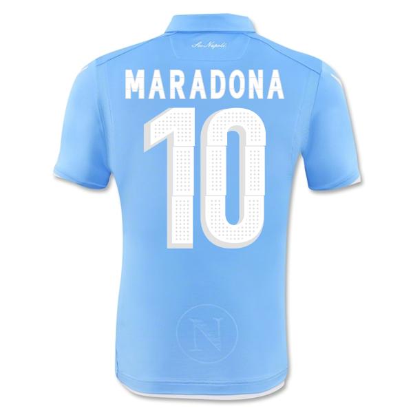 Napoli 14-15 Authentic Home Shirt (Maradona 10)  58063800-48607  -  31.78  Teamzo.com 8d178d4a0968a