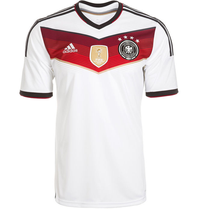 6e1291a83 Germany 14-15 Home Shirt (Kids)  M35023  -  66.65 Teamzo.com