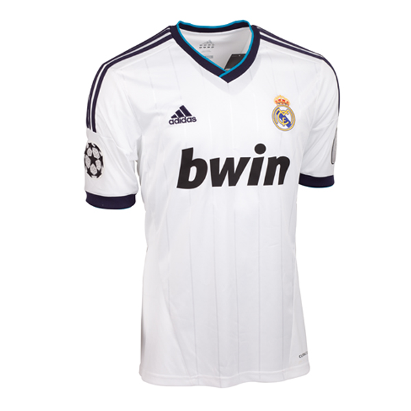 3479cd9ca67 Real Madrid 12-13 Home UCL Shirt [W41768] - $41.49 Teamzo.com