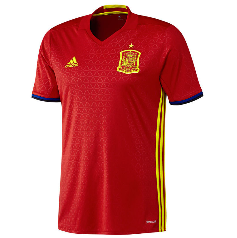 9b23942a824 Spain 2016-2017 Home Shirt  AI4411  -  53.48 Teamzo.com
