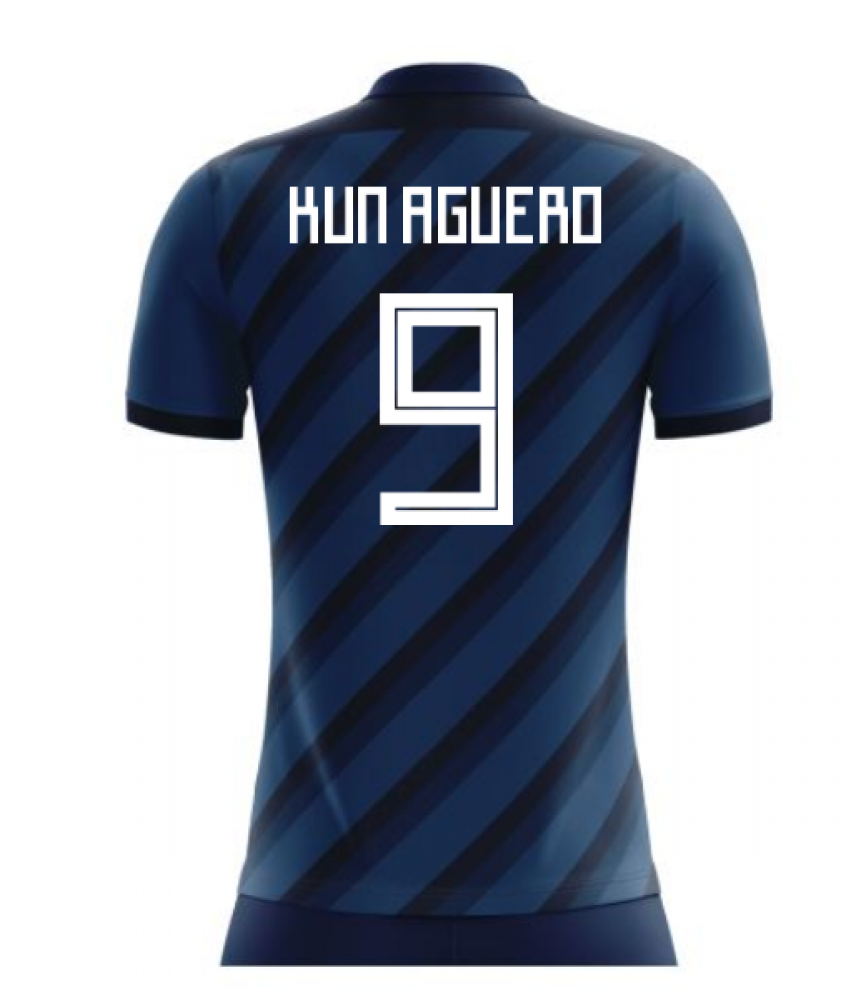 quality design bbb7f b1afd 2018-19 Argentina Concept Shirt (Kun Aguero 9) - Kids
