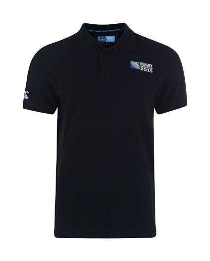 England RWC 2015 No 8 Plain Polo Shirt (White) TBvZbDJ6H