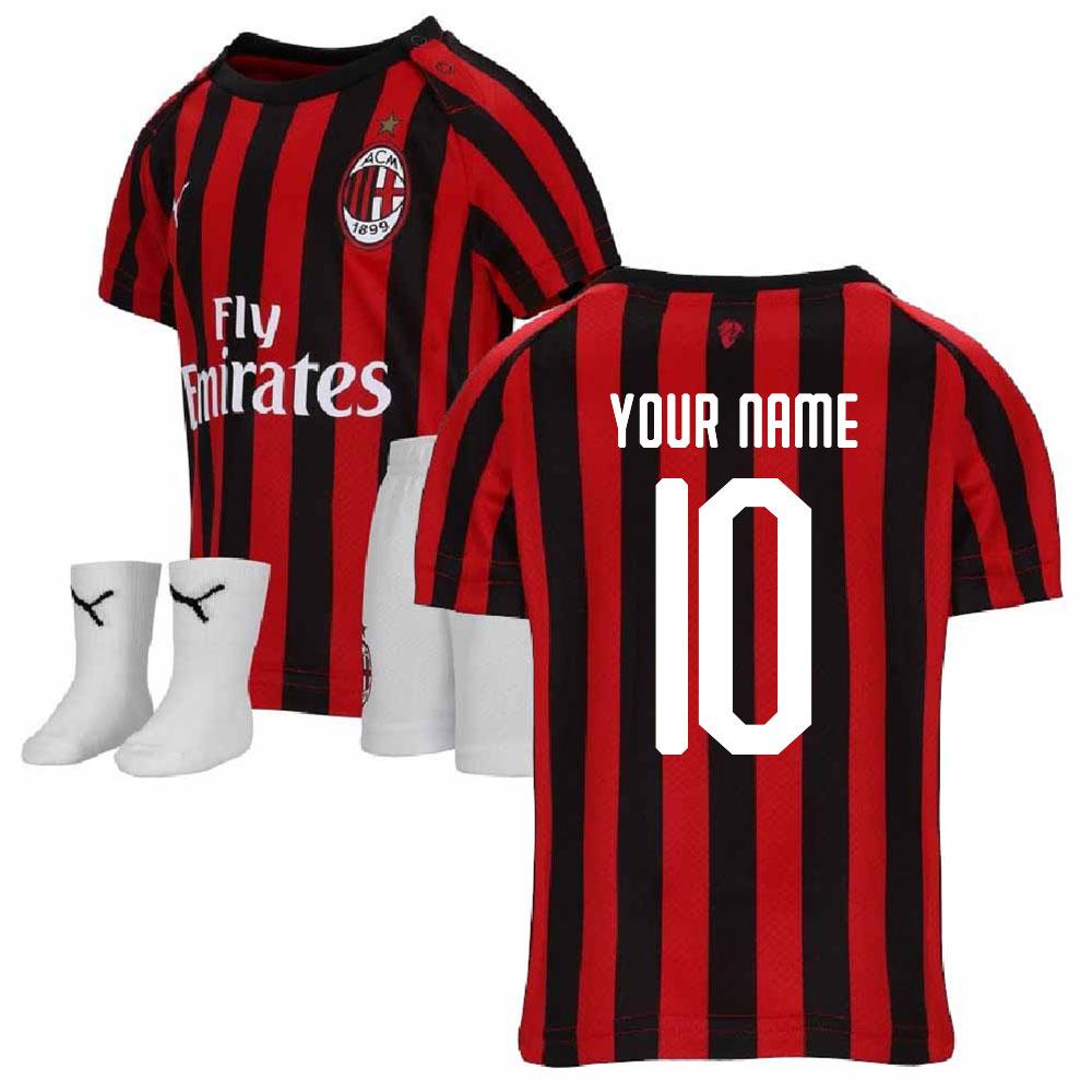 2019 2020 Ac Milan Puma Home Baby Kit Your Name 75586601 142443 64 94 Teamzo Com