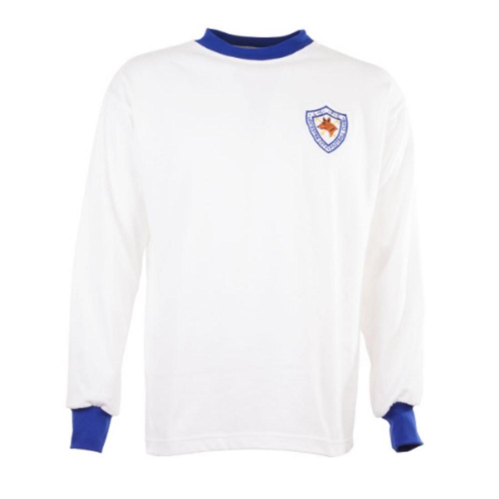 04d0ed7db Leicester City 1960s Retro Away Football Shirt [TOFFS1303] - $44.41  Teamzo.com