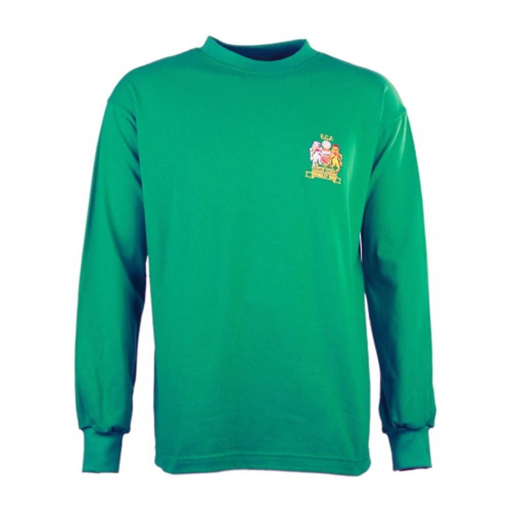 Manchester United 1968 European Cup Final Goalkeeper Retro Football Shirt d2a9192e7
