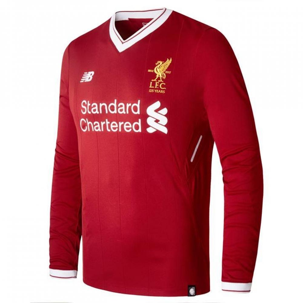 7dff01273 Liverpool home long sleeve shirt kids jpg 1000x1000 Long sleeve football  shirts
