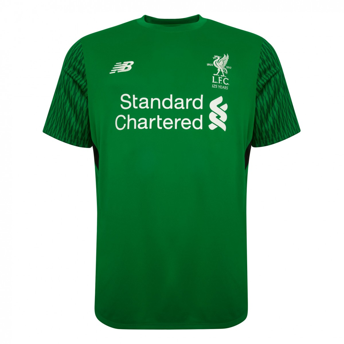 3bec2d263 Liverpool 2017-2018 Home Short Sleeve Goalkeeper Shirt (Kids ...