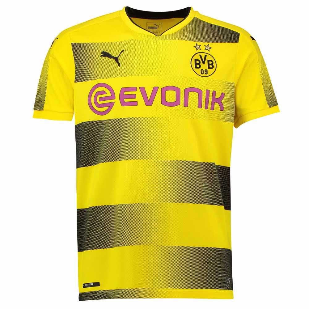 buy popular 66075 c195a Borussia Dortmund 2017-2018 Home Soccer Shirt