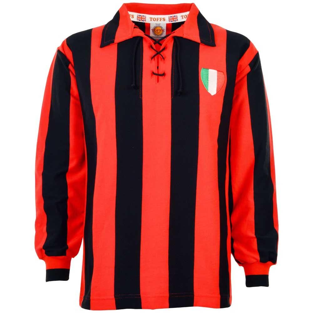 super popular ef2ca 5441b A C Milan 1950s Retro Football Shirt