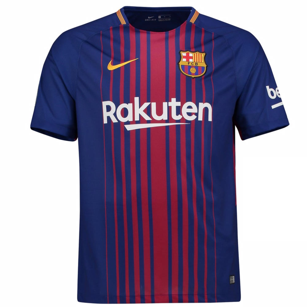 Barcelona 2017-2018 Home Shirt (Kids)  847387-456  -  39.65 Teamzo.com 3c11cecad