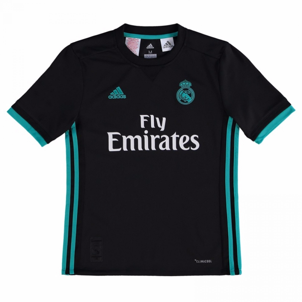 on sale f1d03 b5200 Real Madrid 2017-2018 Away Shirt (Kids)