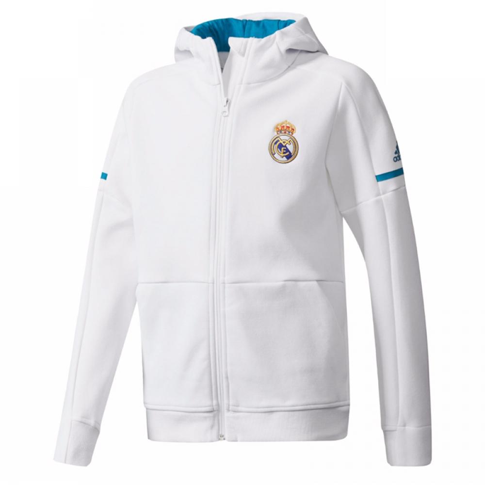 9748651c9 Real Madrid 2017-2018 Anthem Jacket (White) - Kids  BR2499  -  59.74 ...