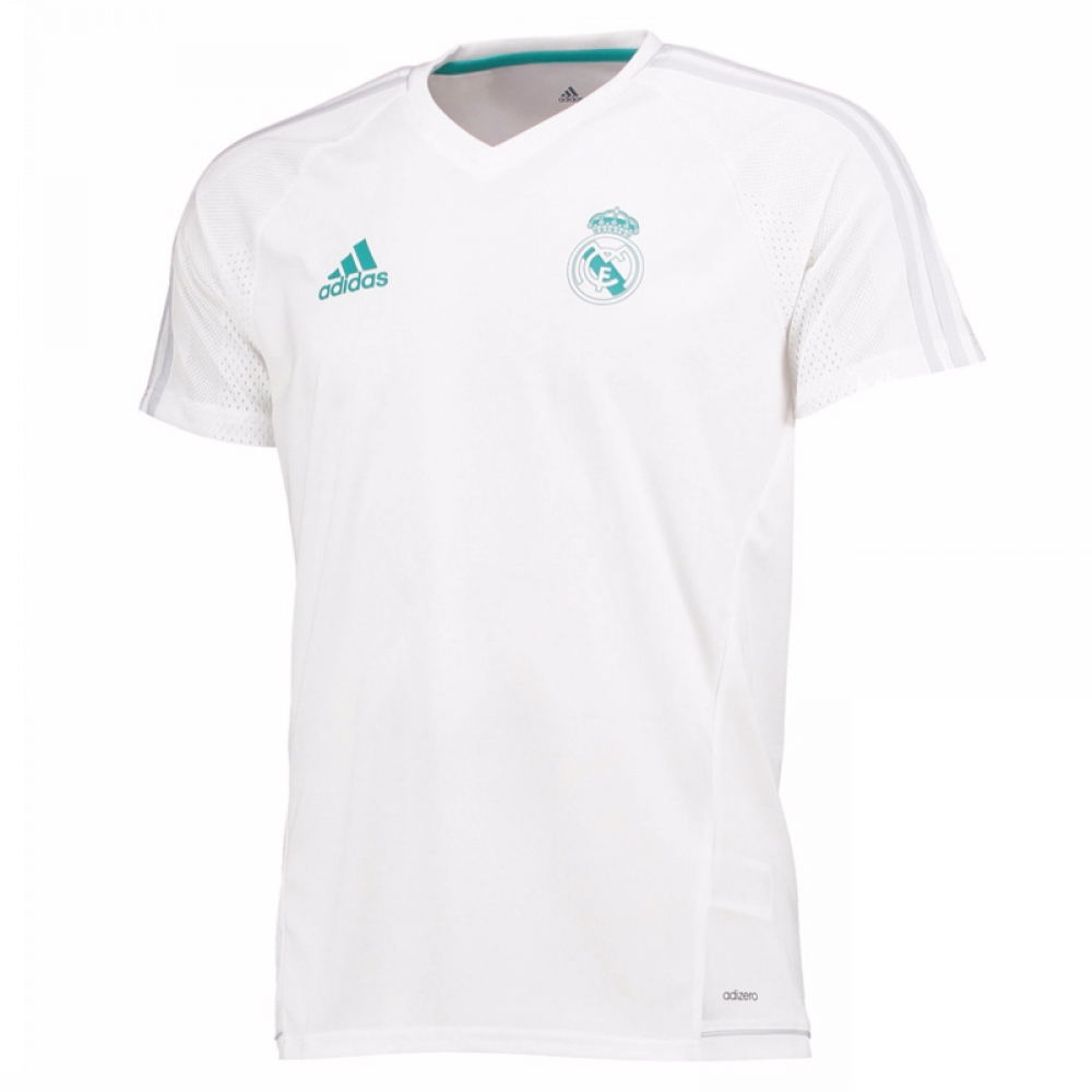 premium selection 8d6aa c54d9 Real Madrid 2017-2018 Training Shirt (White) - Kids