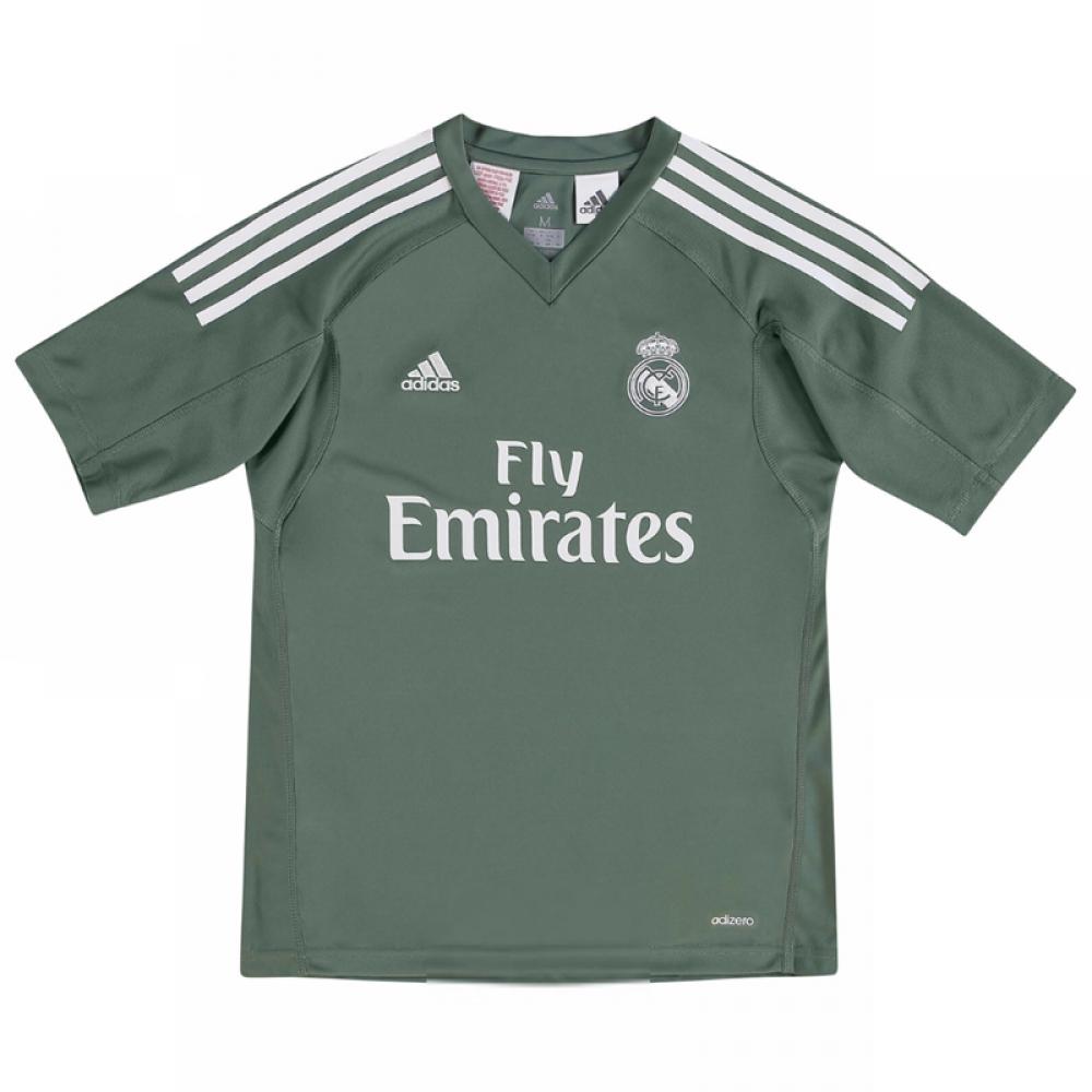 buy popular 22853 d8072 Real Madrid 2017-2018 Home Goalkeeper Shirt (Blue)