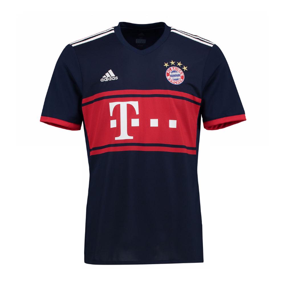 Bayern Munich 2017-2018 Away Shirt  AZ7937  -  59.49 Teamzo.com 575bc4570