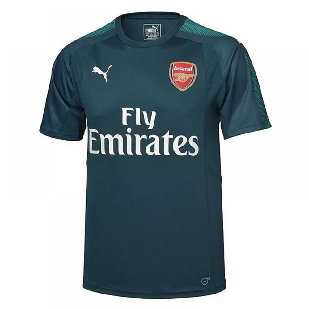 24b27e4ea2f Arsenal 2017-2018 Home SS Goalkeeper Shirt (Deep Teal) [75149420] - $40.06  Teamzo.com