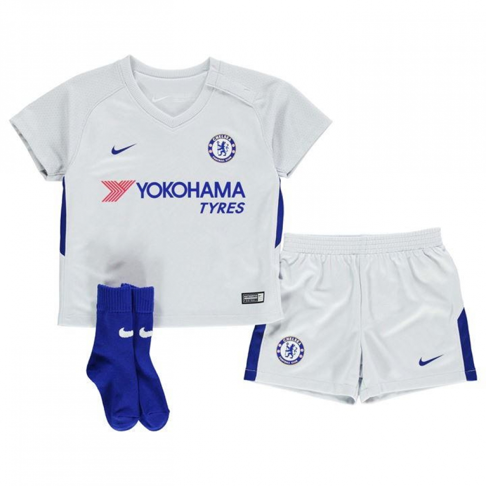 new style 4f362 92ab2 Chelsea 2017-2018 Away Baby Kit