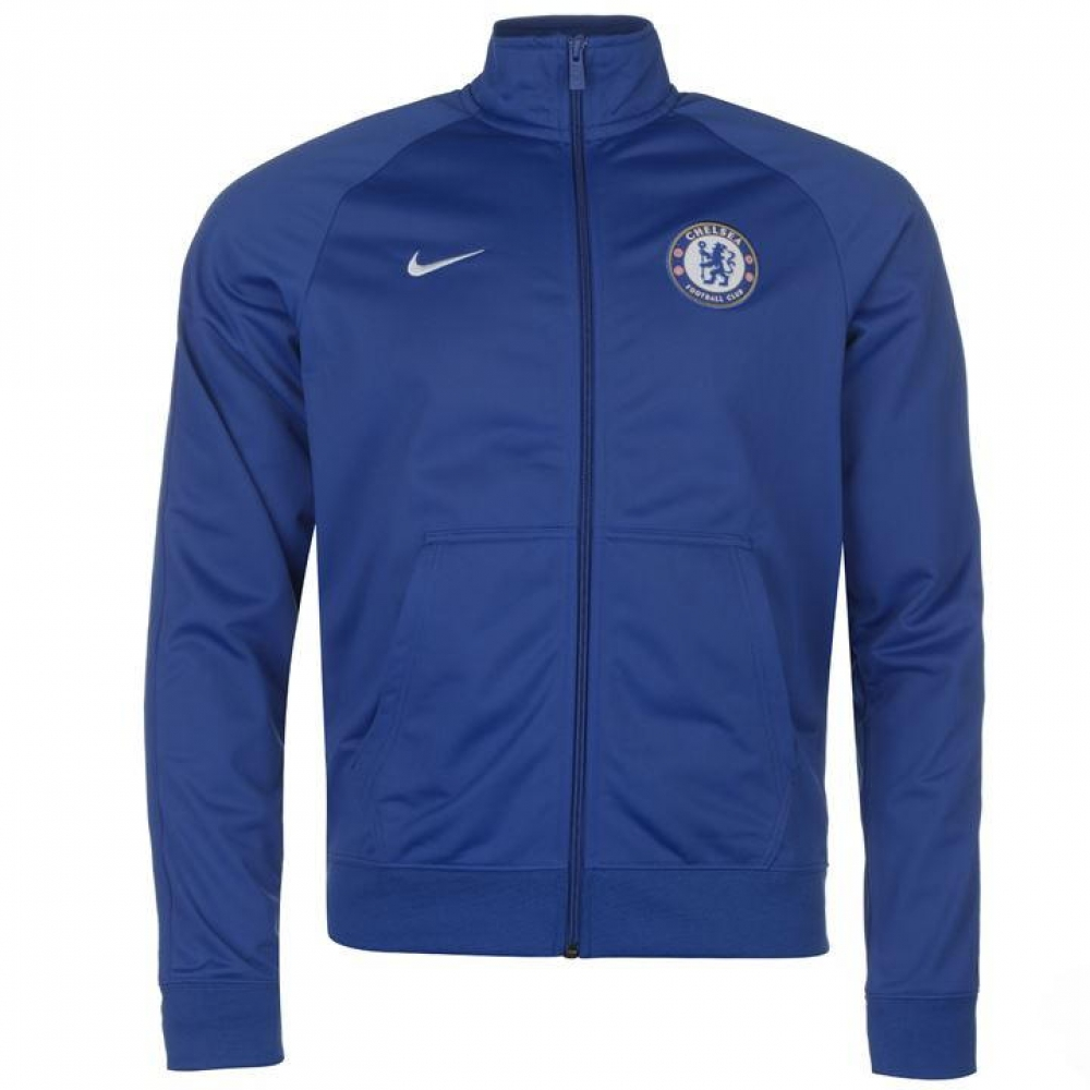 Chelsea 2017-2018 Core Pre-Match Jacket (Blue)  905498-417  -  37.01 ... 43f474ab6