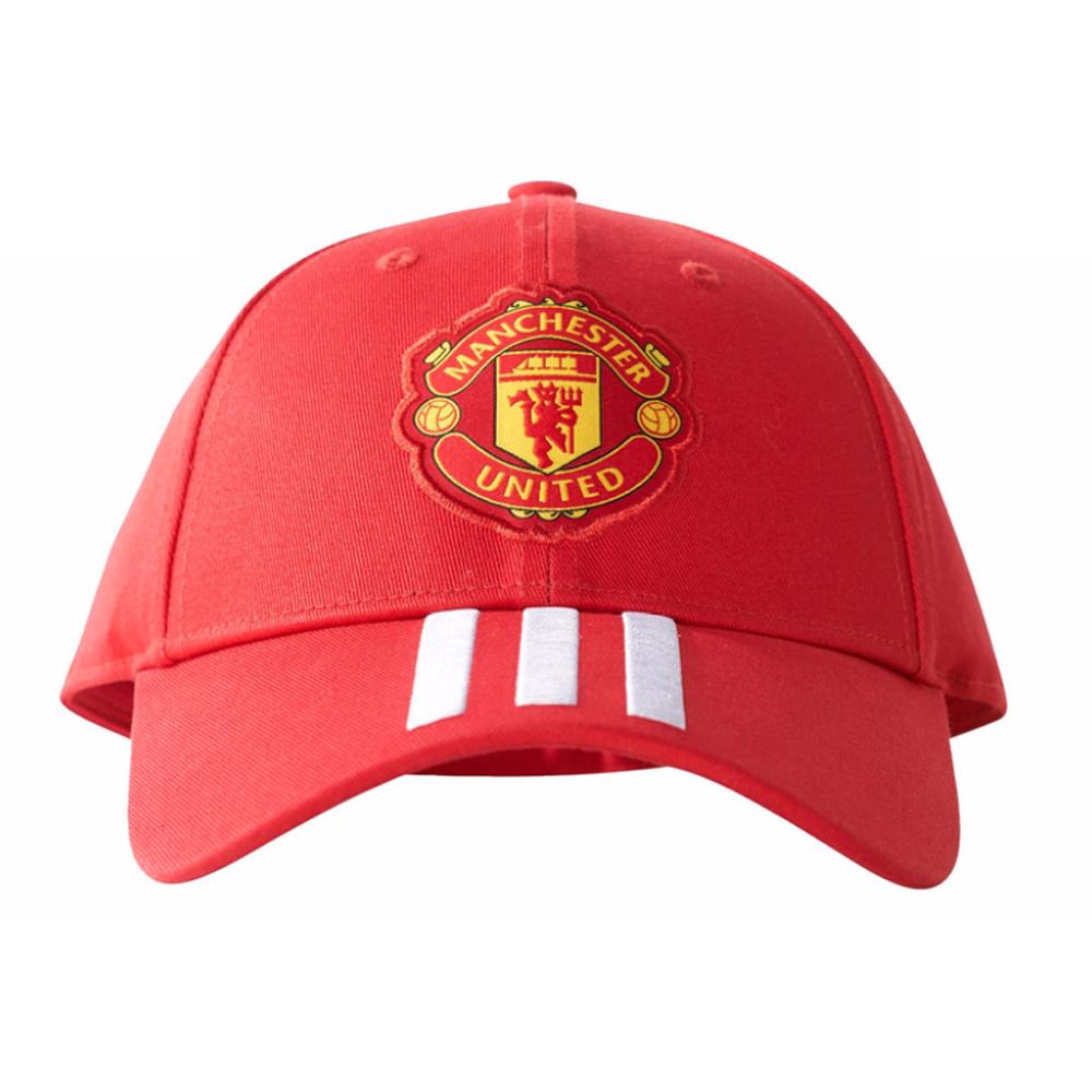 Man Utd 2017-2018 3S Baseball Cap (Red)  BR7031  -  19.61 Teamzo.com b4ee5d9328a