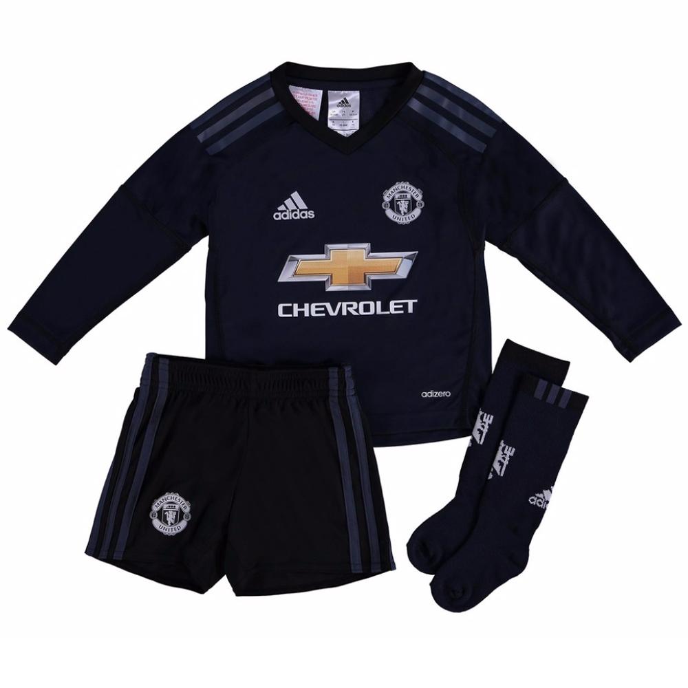 08278ec9e Man Utd 2017-2018 Home Goalkeeper Mini Kit  B30974  -  26.50 Teamzo.com