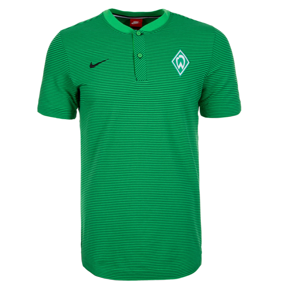 76b41844 Werder Bremen 2016-2017 Authentic Grand Slam Polo Shirt (Green)  [867656-361] - $48.33 Teamzo.com