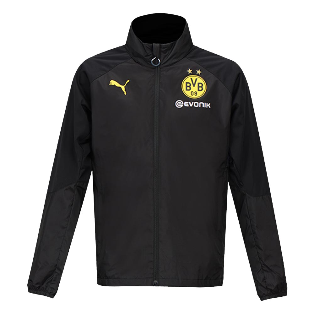 Borussia dortmund 2017 2018 bench jacket black 75178602 Bench jacket