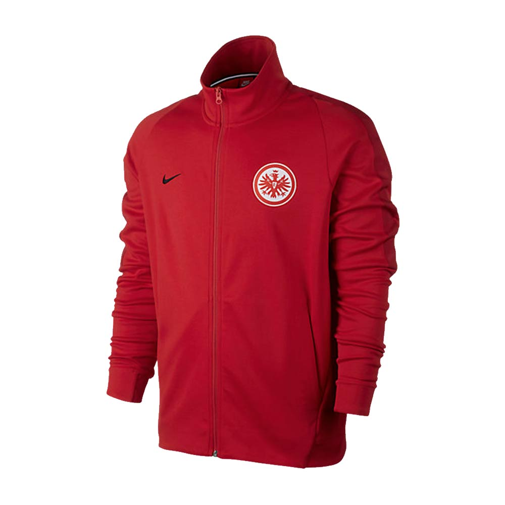 eintracht frankfurt 2017 2018 authentic franchise jacket. Black Bedroom Furniture Sets. Home Design Ideas