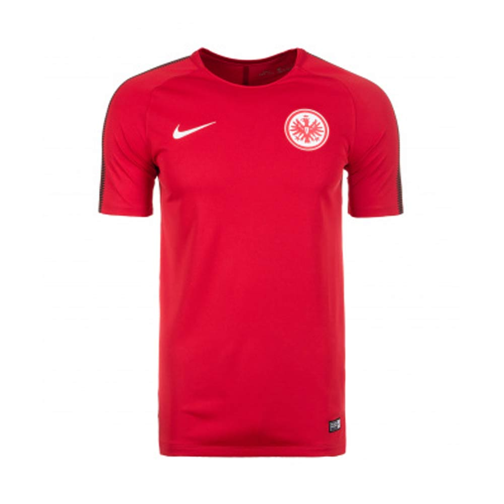 eintracht frankfurt 2017 2018 squad training shirt red. Black Bedroom Furniture Sets. Home Design Ideas
