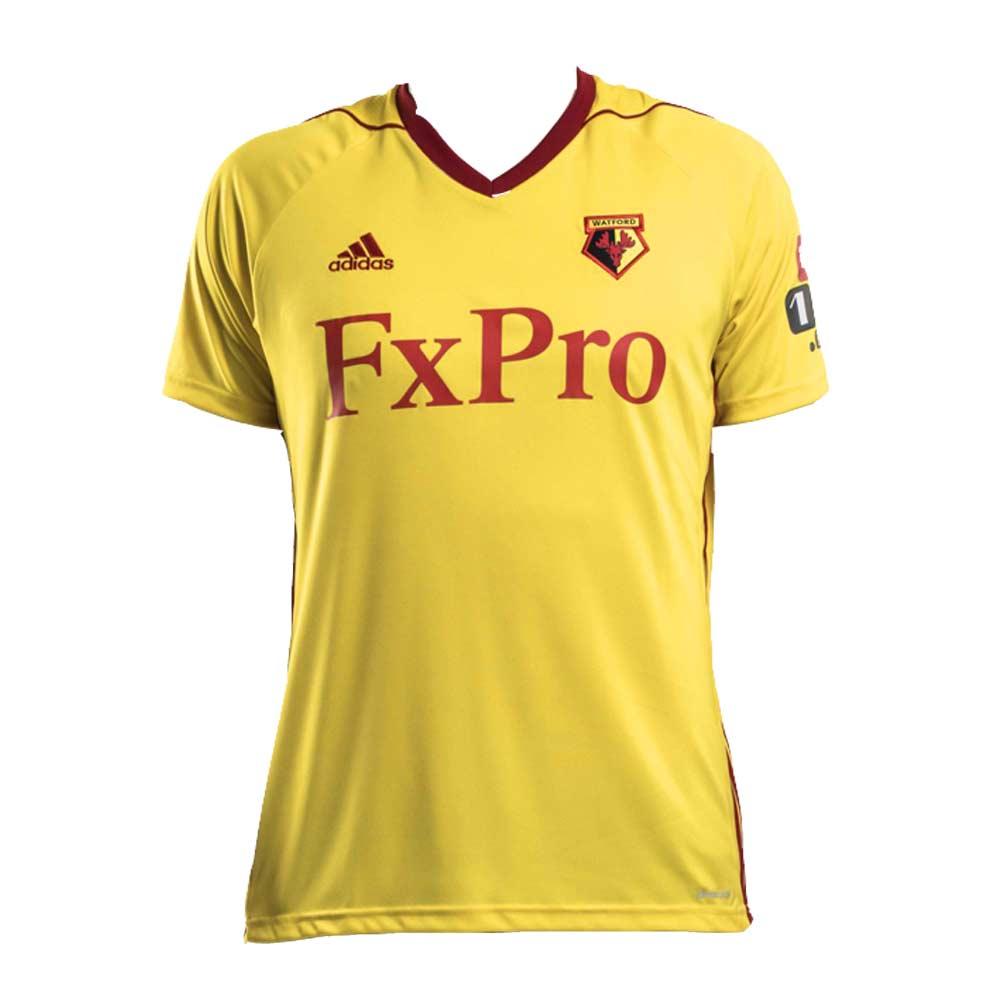 24ef73b0f Watford 2017-2018 Home Shirt  BR6835  -  85.60 Teamzo.com