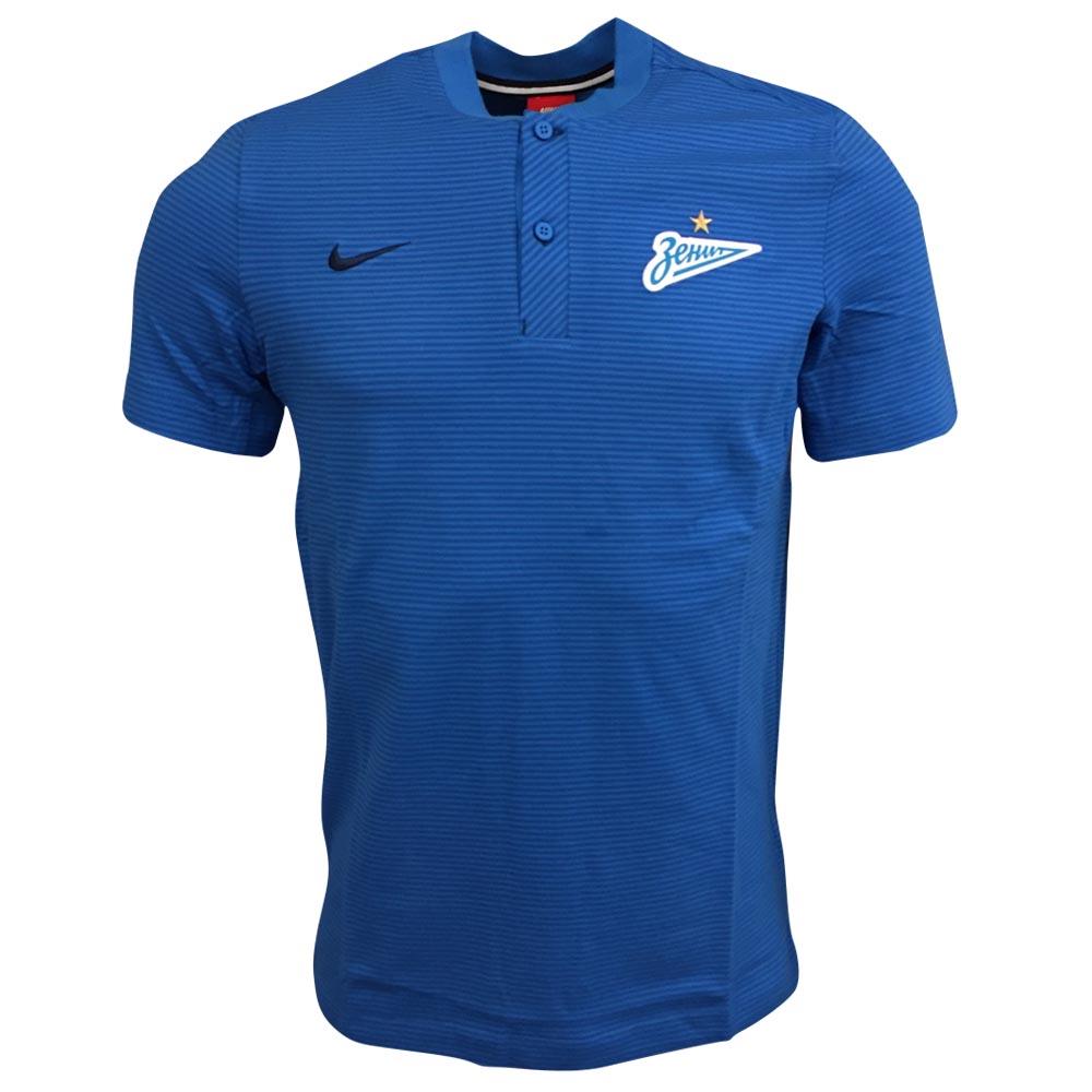 Zenit 2017-2018 Authentic Grand Slam Polo Shirt (Blue)  867660-435 ... b3657ac17