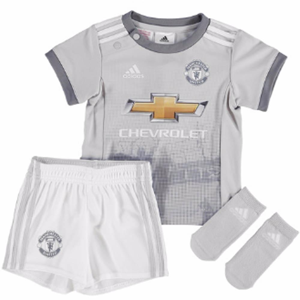 on sale 67f4f c3b62 Man Utd 2017-2018 Third Baby Kit
