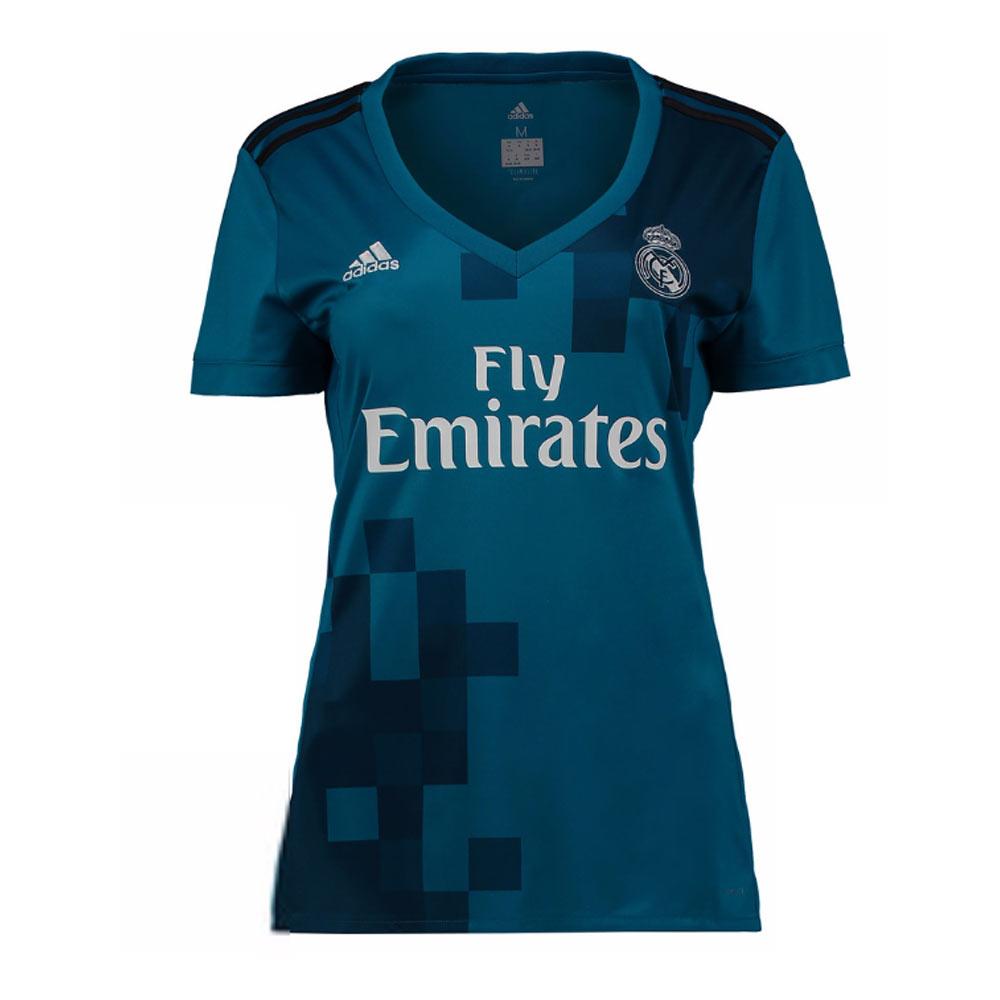 Real Madrid 2017-2018 Ladies Third Shirt  AZ8065  -  66.15 Teamzo.com cafc97291fe3b
