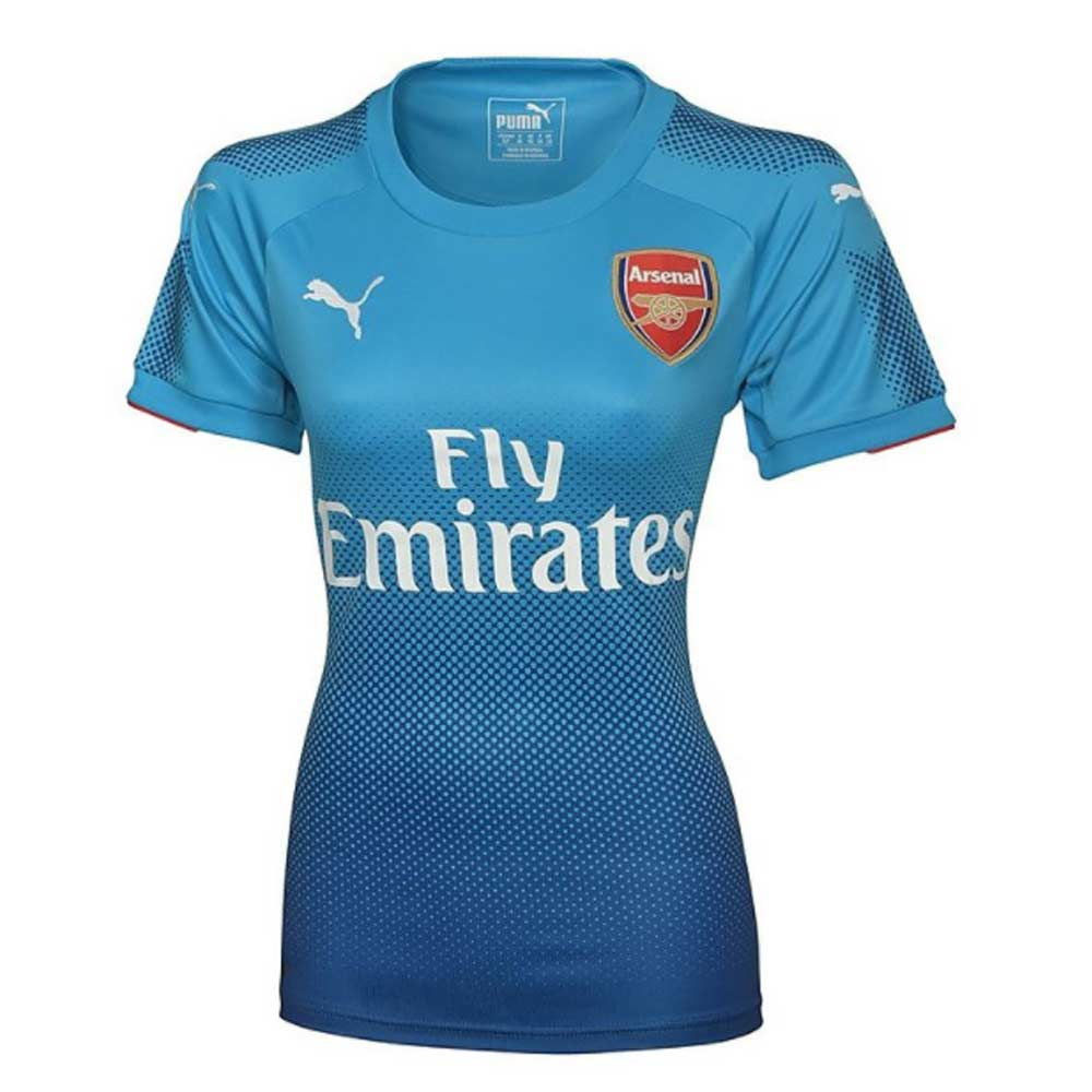 Arsenal 2017 2018 Away Ladies Shirt 75152903