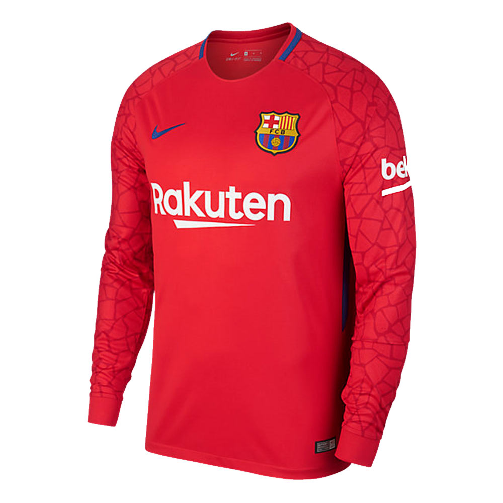 b0fd4e83ea4 Barcelona 2017-2018 Goalkeeper Shirt (Red)  847251-658  -  79.04 ...