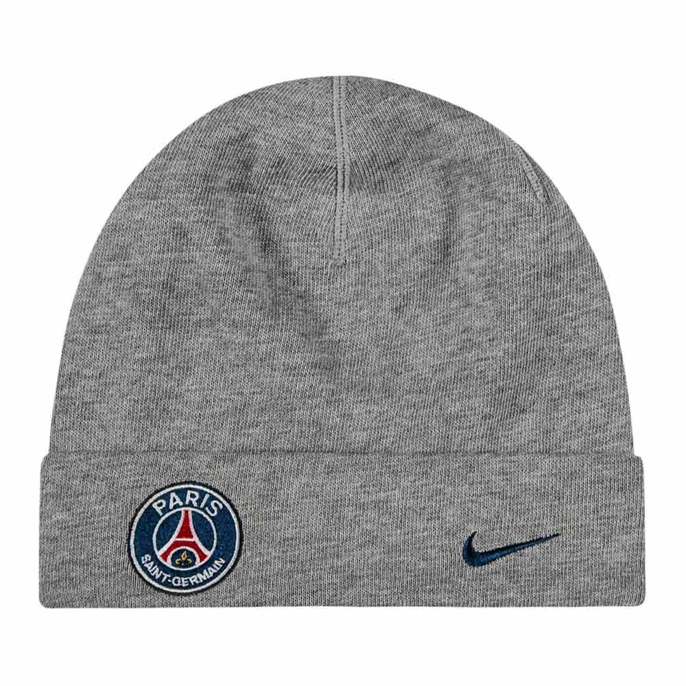 31ab6a666e5 PSG 2017-2018 Training Beanie (Grey)  829623-063  -  22.02 Teamzo.com