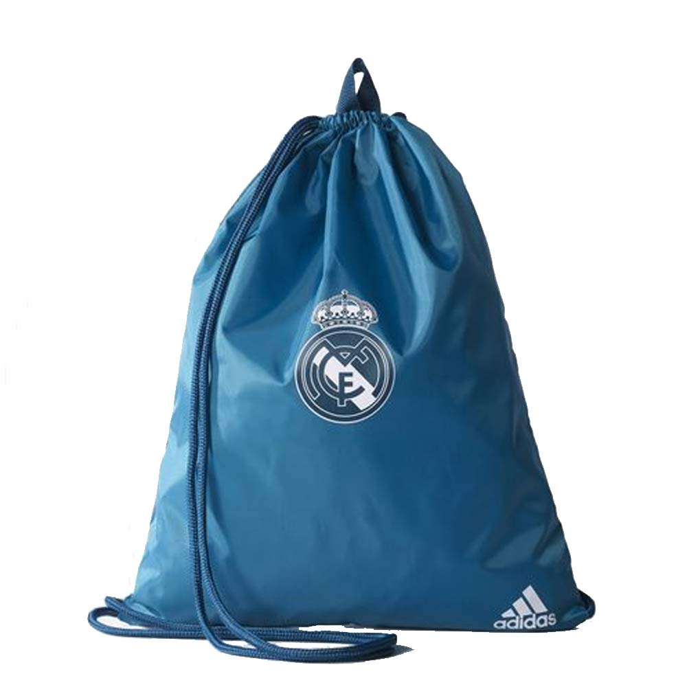 f29d9cecea5 Real Madrid 2017-2018 Gym Bag (Solid Grey)  BR7141  -  16.84 Teamzo.com