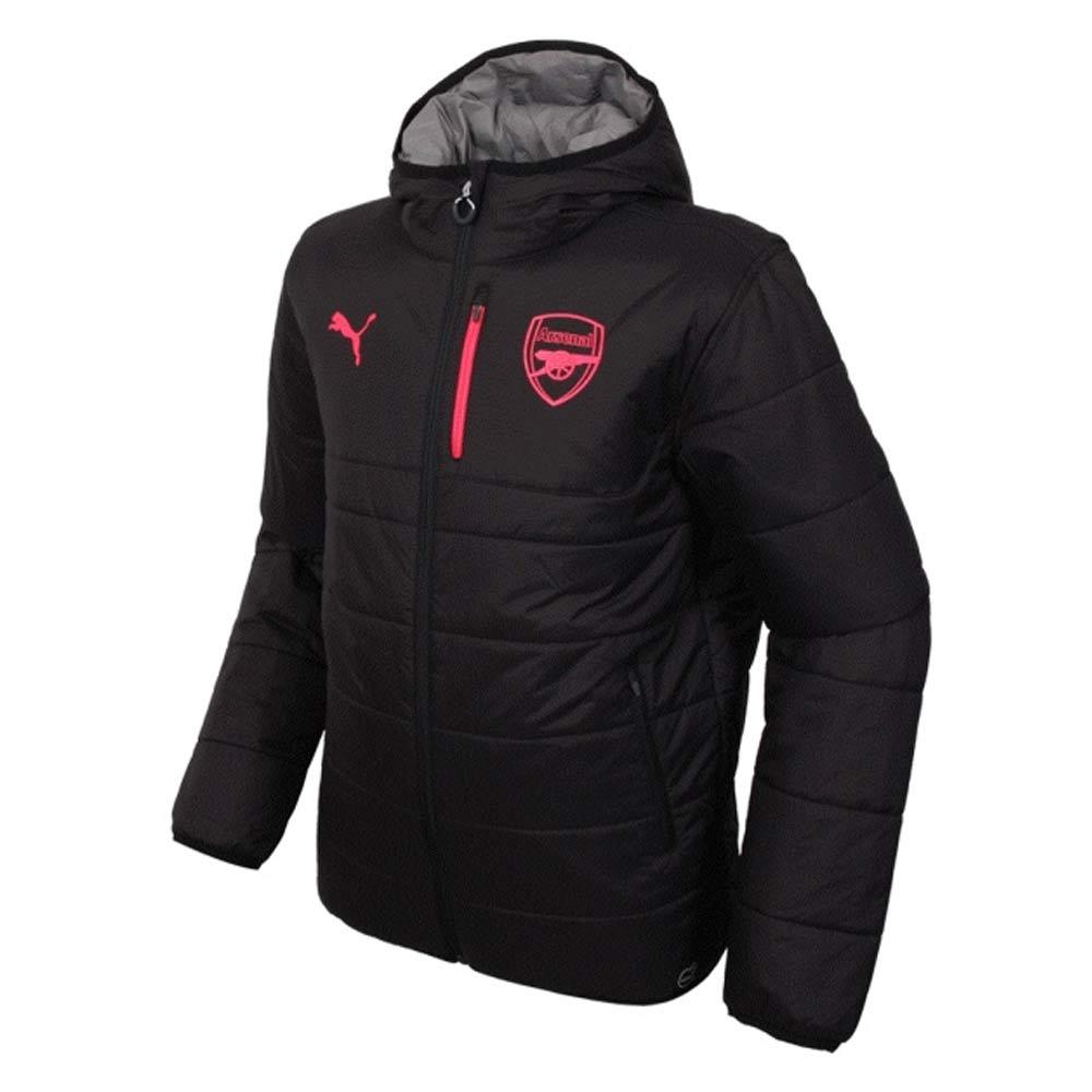 f47ff836f950 Arsenal 2017-2018 Reversible Jacket (Black-Grey) - Kids  75169906B ...