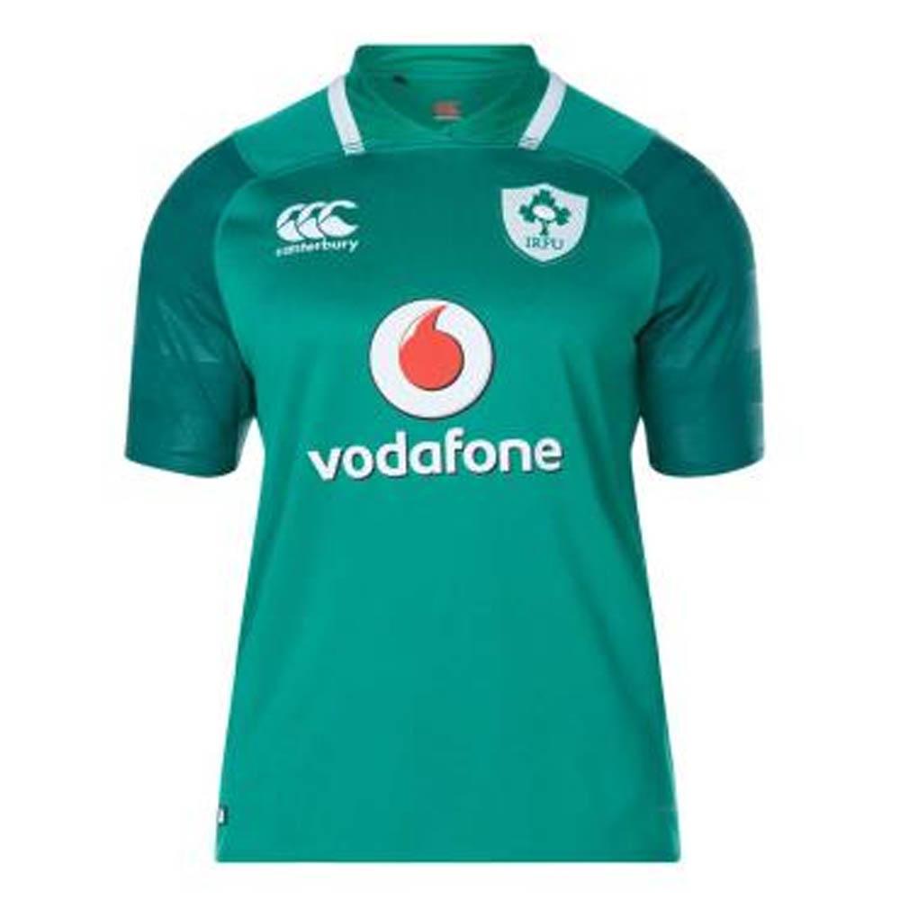 Canterbury Kids Boys Ireland Away Pro Jersey 2017 2018 Junior Shirt Short Sleeve