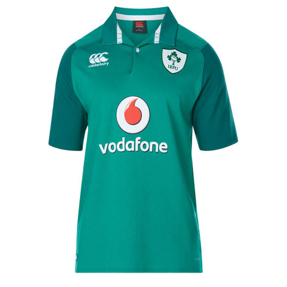 dff3ca27237 2017-2018 Ireland Home SS Classic Rugby Shirt [B909189] - $61.64 ...