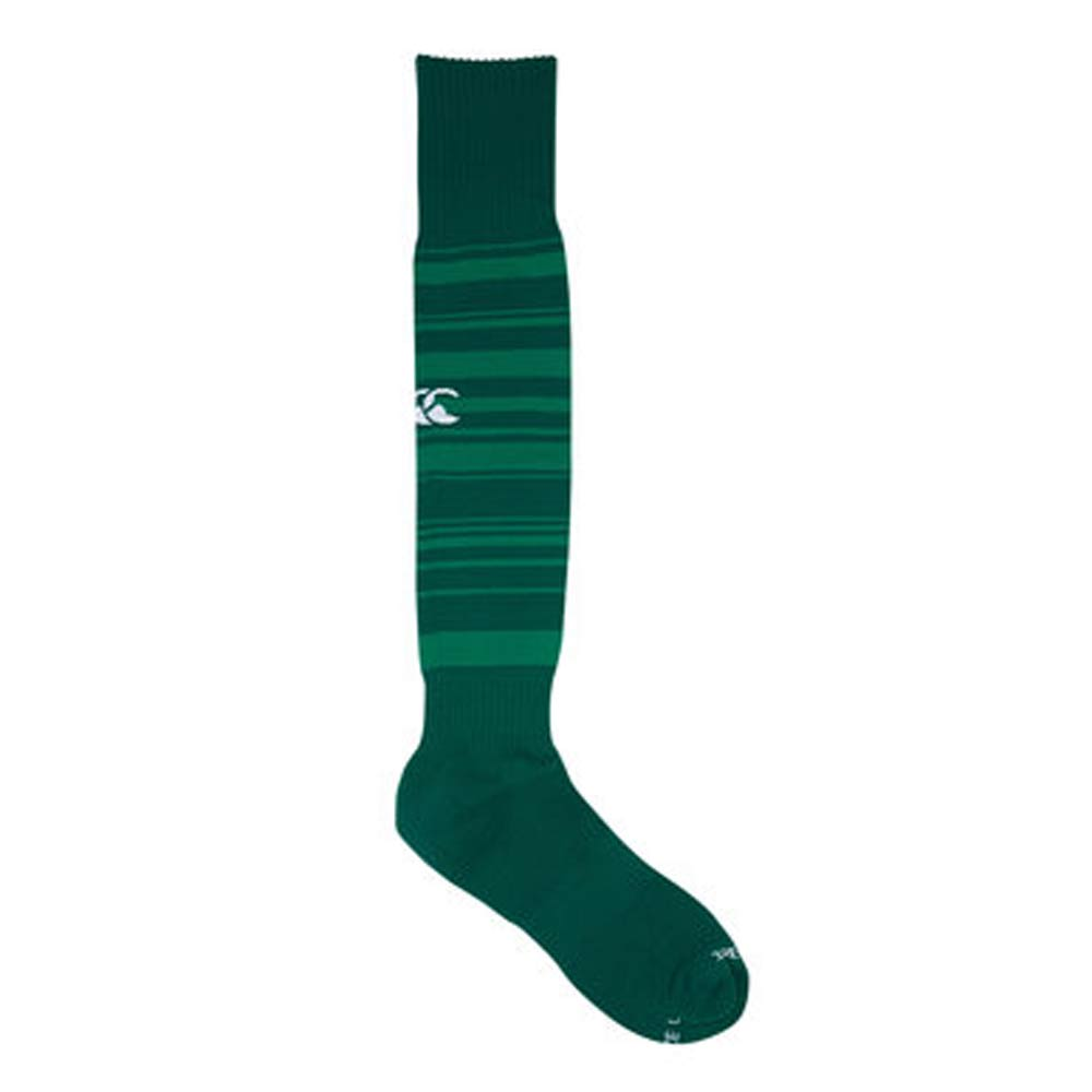 Green Rugby Socks: 2017-2018 Ireland Home Pro Rugby Socks (Green) [E231166