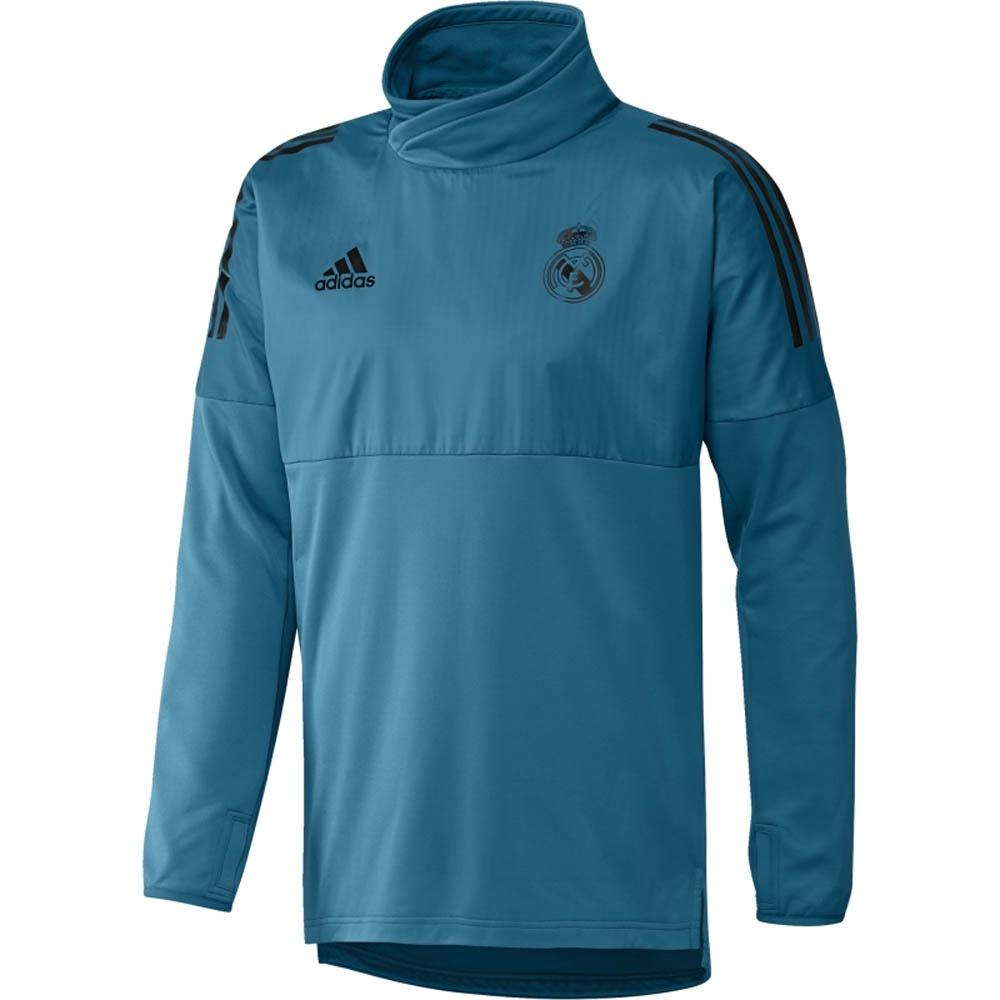 a625886ee2a Real Madrid 2017-2018 EU Hybrid Top (Vivid Teal) [BQ7854] - $31.79  Teamzo.com