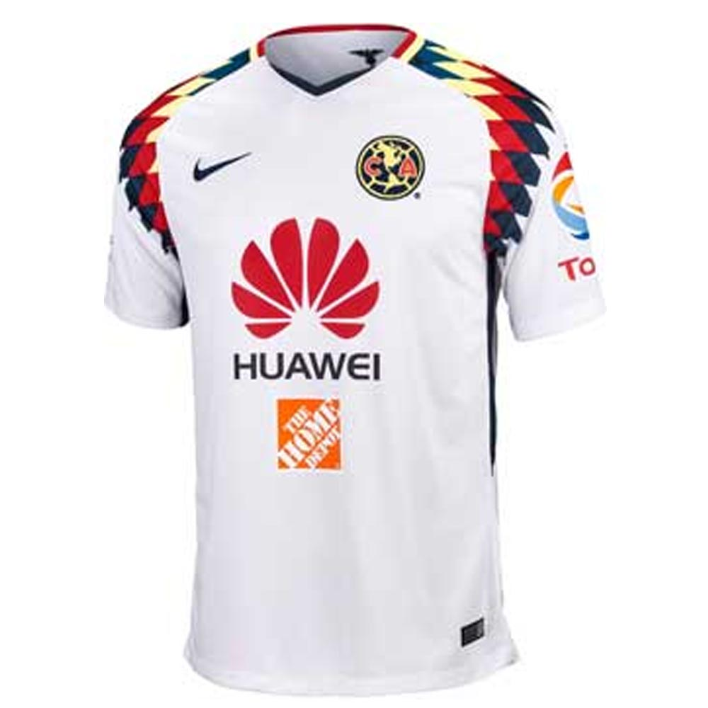 Club America 2017-2018 Away Shirt  847305-101  -  76.87 Teamzo.com ec871ad62