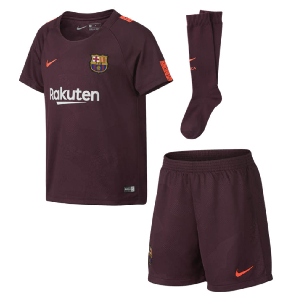on sale d15de 88b17 Barcelona 2017-2018 Third Mini Kit