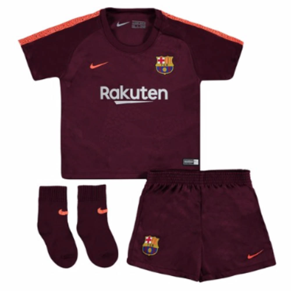 new concept 58083 e6032 Barcelona 2017-2018 Third Baby Kit