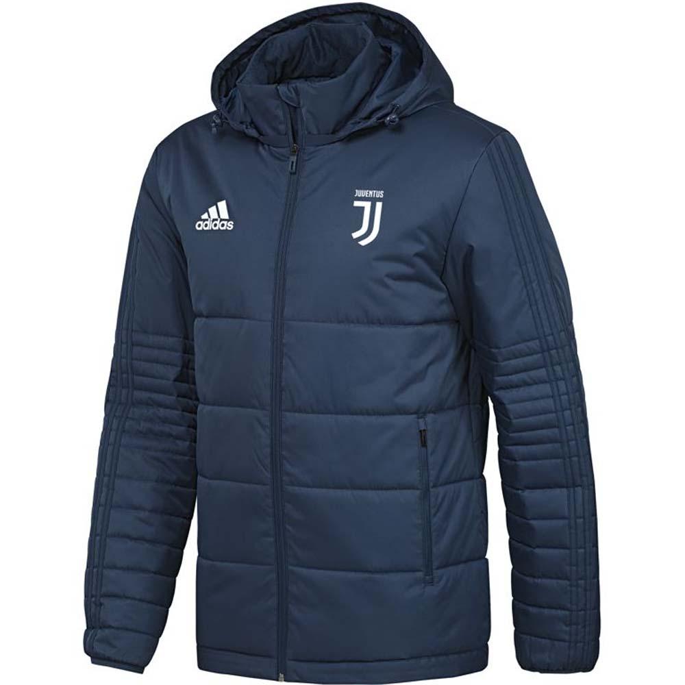 59deec83843 Juventus 2017-2018 Padded Winter Jacket (Blue Night)  B39724 ...