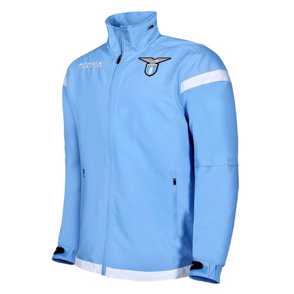 368d0de130e2 Lazio 2017-2018 Macron Full Zip Training Jacket (Blue)  58086262 ...