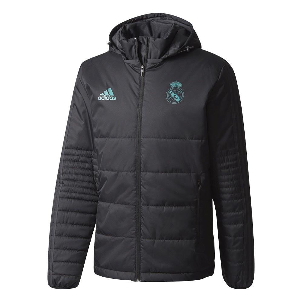 0e598e36b Real Madrid 2017-2018 Padded Winter Jacket (Black)  BQ7856  -  76.78 ...